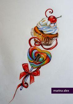 Sweet tattoo design by MarinaAlex.deviantart.com on @deviantART
