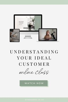 In this masterclass, I take you through several exercises to understand who your target audience really are, as well as why it's important and how to apply this knowledge to your business.