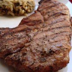 Caribbean Jerk Pork Chops