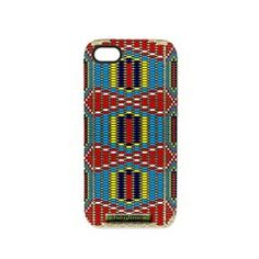 Native American Indian Beads iPhone 5 Tough Case.  See MANY more iPhone 5 Tough Cases by clicking this link   http://www.cafepress.com/cheylines/10430599