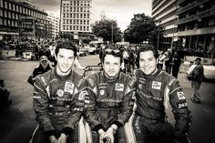 The three...
