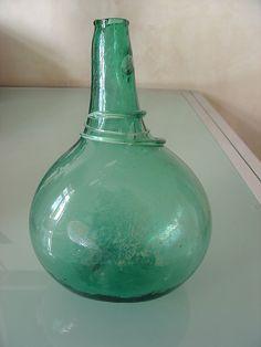 antike Flasche mit Abriß !! in Antiquitäten & Kunst, Glas & Kristall, Antikglas | eBay