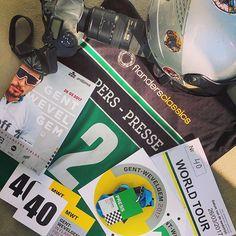 source instagram tdwsport  Ready! @gentwevelgemofficial #GW #photographer #moto #credentials #media #press #cycling #classics #flanders #belgium  tdwsport  2017/03/26 21:19:57