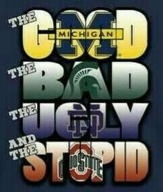 That's right go blue
