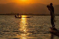 i pescatori del lago inle