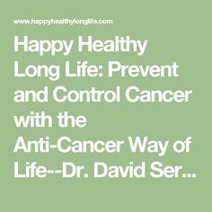 Anticancer Una Nueva Forma De Vida David Servan Epub