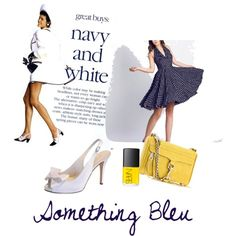 Something Bleu Camelia, created by lolagirl307 on Polyvore