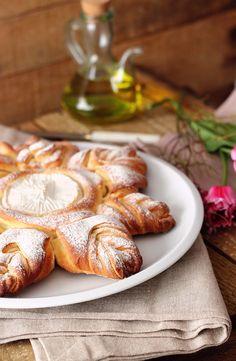 Pan con camembert