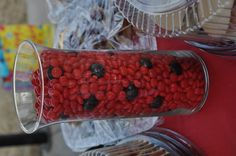 lady bug theme candy @Claudia Park Park Martinez