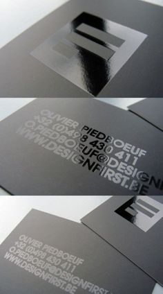 Design First #business #card