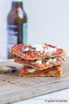 Gluten-Free Pizza Crust Recipe - the best I've ever had!