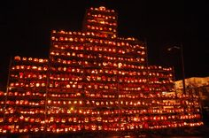 Halloween Fun Fact: Boston, Massachusetts, holds the record for the most Jack O�Lanterns lit at once (30,128).  #dsgt #Halloween