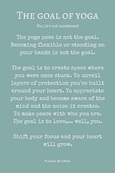 Wisdom by the wonderful Rachel Brathen Yoga Quotes. True yoga is not about the shape of your body, but the shape of your life. Yoga is not to be performed yoga is to be lived. Yoga Meditation, Yoga Yin, Yoga Flow, Yoga Mantras, Namaste Yoga, Ashtanga Yoga, Vinyasa Yoga, Bikram Yoga, Iyengar Yoga