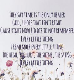 Every little thing// Carly Pearce