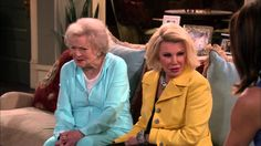 Hot in Cleveland Highlight: Joan Rivers Plays Betty White's Sister