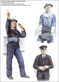 Imagen Naval History, Military History, Ww2 Uniforms, Military Uniforms, Senior Services, Disco Fashion, Napoleonic Wars, Royal Navy, World War Two