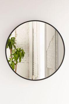 Slide View: 2: Umbra Oversized Hub Mirror