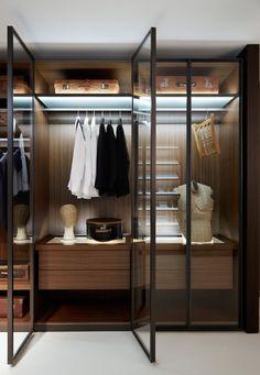 Wardrobes closets on pinterest iron doors closet and for Iron closet storage