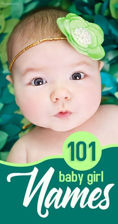 MomJunction has a list of 101 sweet and cute baby girl names. Trendy, traditional, celebrity favorites -- we've got them all for you in our list. Irish Baby Girl Names, Name Of Girls, Cute Baby Girl Names, Girl Names With Meaning, Twin Baby Girls, Unique Baby Names, Cute Babies, Boy Or Girl, Romantic Girl Names