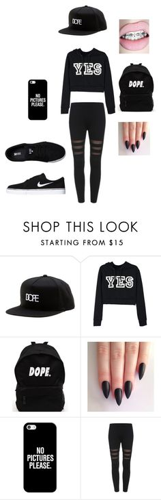 """""""Dope"""" by alexandrakeh on Polyvore featuring Dope, Casetify and NIKE"""