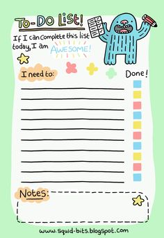 awesome to do lists