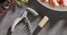 Laguiole en Aubrac makes the highest quality wine openers, using only Sandvik stainless steel which sharpens easily, holds an edge and never rusts. Each tool is built in France by a single artisan from start to finish, and is proudly signed with the artisan's mark.