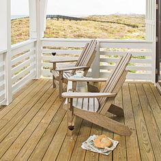 Style Guide: 60 Breezy Porches and Patios | Simple Porch | SouthernLiving.com