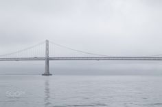 Keep on Truckin' - A truck crossing over the Bay Bridge to San Francisco