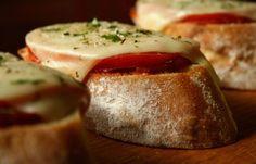 Mini Pizza Slices