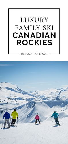 From novice downhill slopes to back country cross-country and expert heli-skiing, Canadian Rockies Skiing suits families of every level of ski ability. Road Trip With Kids, Family Road Trips, Family Travel, Travel Itinerary Template, Beach Trip, Beach Travel, Ski Vacation, Toddler Travel, Canadian Rockies