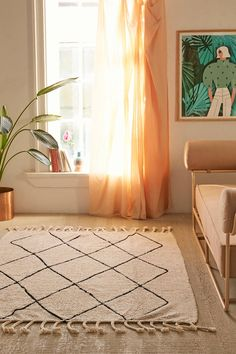 Washable Berber Rug | Urban Outfitters