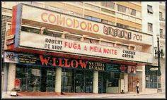 Cine Comodoro na avenida São João.