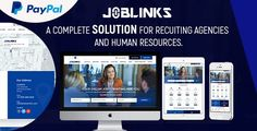 Job Links - Complete Job Management Script . Job Links is best and most complete job management script with paypal integration. You will get paid by offering premium jobs to employers. It comes with 3 types of users roles Admin, Employer, Job seekers. Everyone will manage their account with elegant dashboard. There is a very powerful admin