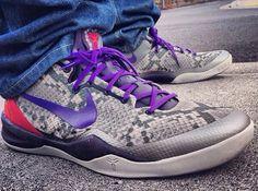 "Nike Kobe 8 ""Mine Grey"" - SneakerNews.com"