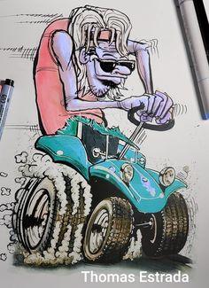 Vw Vintage, Beach Buggy, Dune Buggies, Monster Trucks, Dreams, Vehicles, Art, Etchings, Art Background