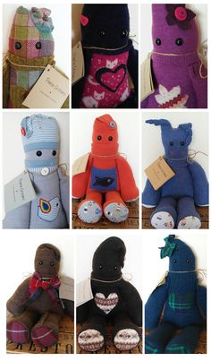 Peerie Critters available to purchase directly from Ninian, 80A Commercial Street, Lerwick ♥