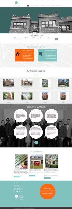 MGGroupChicago.com Full custom, responsive, real estate website built on WordPress.