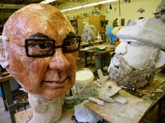 The Big Head Project   WVartist's Weblog