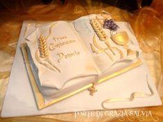 torta libro prima comunione 2