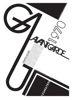 avante garde type poster.The condensed fonts were drawn by Ed Benguiat in 1974, and the obliques were designed by André Gürtler, Erich Gschwind and Christian Mengelt in 1977.