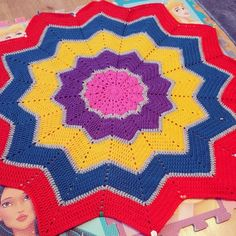 Ripple #Crochet Blanket by MissMotherHook