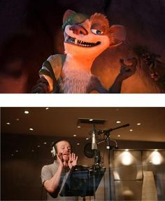 Still of Simon Pegg in Ice Age: Dawn of the Dinosaurs (2009) as Buck