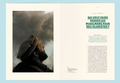 Illustration and graphic design studio Violaine & Jeremy: Editorial design for the booklet La Villa Mediterranée  Editorial Design, layout, graphic design, dps, double page spread