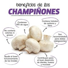 Increíble¡¡ lo que el #champiñon puede hacer Health And Fitness Expo, Health And Fitness Articles, Clean Eating Food List, Clean Eating Recipes, Healthy Tips, Healthy Recipes, Healthy Fruits, Food Facts, Health And Beauty Tips