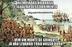 regram @quadrinhosdelavita Sacanagem! -  Gostou e ainda não nos segue? SIGA @quadrinhosdelavita (instagram e faceboook) porque sua presença é muito importante por aqui! Seja muito bem-vinda(o)! =) -  #quadrinhosdelavita - - - - #olimpiadas #olimpíadas #rio2016 #olimpiadasrio2016 #olimpiadas2016 #brasil #olimpiada #ouro #tirinhas #meme #memes #historia #história #risadas #sorriso #errejota #portugueses #medalhas #medalha #portugal #riodejaneiro #humor #piadas #desenho #desenhos #esportes…