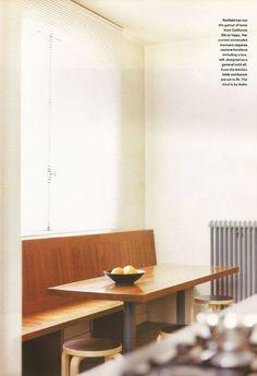 Alvar Aalto Stool 60 - Carine Roitfeld's favorite