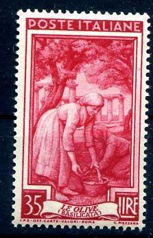 ITALIA 1950 - ITALIA AL LAVORO Lire 35