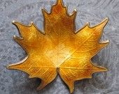 Maple Leaf brooch by Hroar Prydz