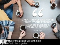 Surround yourself with people who share the same dreams as you. Youd be amazed at how easy it is to synchronize talent and make things happen! #SuccessIsPossible #motivation