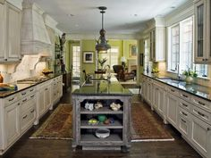 Pictures of Beautiful Kitchen Designs Layouts From HGTV : Rooms : Home Garden Television